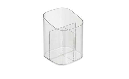 InterDesign 30620 Clarity Cosmetic Organizer Cup, Clear, Plastic e96ad185-8a74-40f6-8408-a15753af4a5c