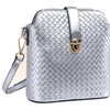 Women's Elegant Quilted Cowhide Leather Single Shoulder Crossbody
