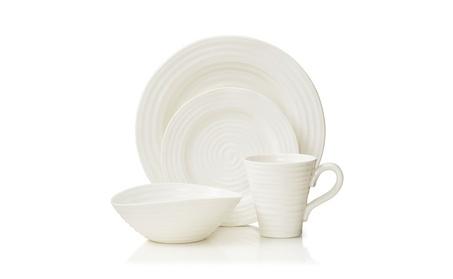 Portmeirion Sophie Conran White 4 Piece Placesetting 9be7d0de-0a18-401e-a89e-3bf2de6eed0a
