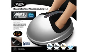 UComfy Shiatsu Foot Massager 2.0 with Multi-Level Settings
