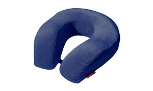 Memory Foam XL U Shape Travel Pillow Neck And Head Support Cushion