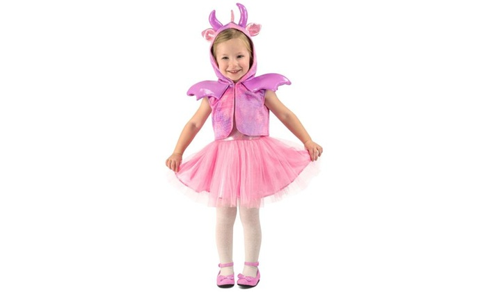 Toddler Princess Dragon Child Costume