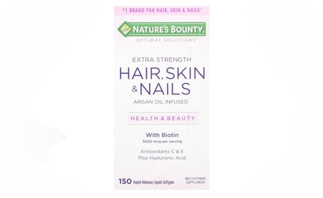 Nature's Bounty Optimal Solutions Hair, Skin & Nails Extra Strength fef6a739-d6a6-4a21-9aca-b95391d8c012