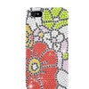 Insten Flowers Hard Rhinestone Case For Apple iPhone 5/5S