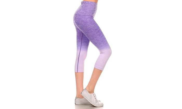 Activewear Ombre Capri Leggings