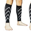 QPower Professional Pair Calf Support Compression Leg Sleeve Sports Outdoor