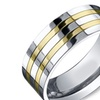 COI Jewelry Aircraft Grade Titanium Ring - JT2200