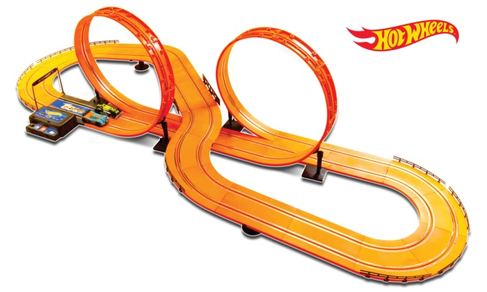 hot wheels 30 feet ac version slot track set instructions