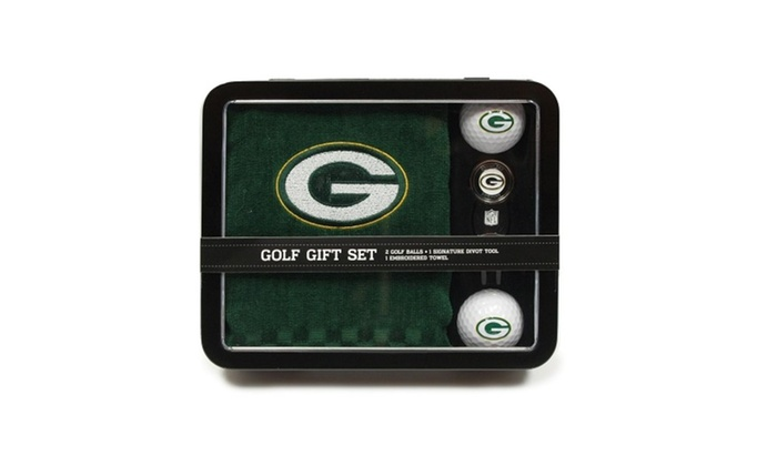 Green Bay Packers Golf Gift Se...