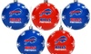 Forever Collectibles - NFL 5 Pack Shatterproof Ball Ornaments