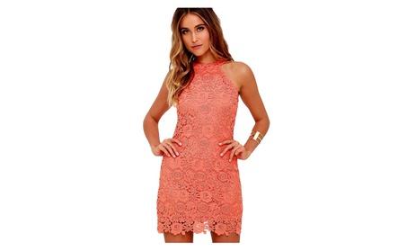 Lace Sleeveless Mini Dresses 53b2e14c-d72d-4d75-bd70-bda7d5f49a3a