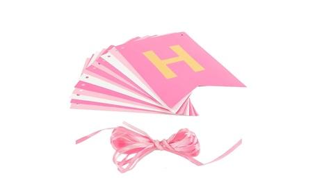 Happy Birthday Banner Multicolor Shiny Hanging Party Decor 837388cd-dda7-4d21-bc11-6095f298f635