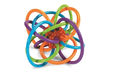 Manhattan Toy Winkel Rattle and Sensory Teether Activity Toy 23ac8d34-de9c-4270-99c4-6e13d9d2d443