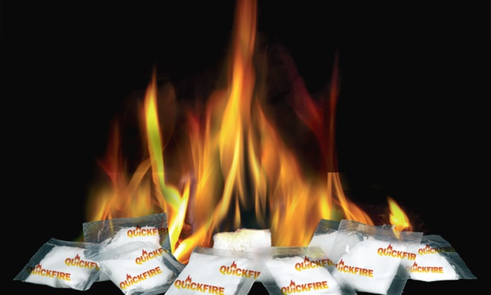 Quickfire Waterproof And Non Toxic Fire Starters