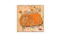 Roderick Stevens 'Snap Purse Orange' Canvas Art (Groupon Goods) photo