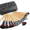 Professional Makeup Brush Cosmetic Set with Case (24 Units)
