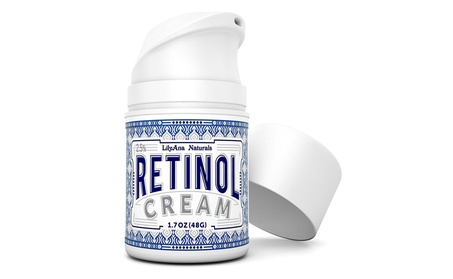 Retinol Cream Moisturizer for Face and Eyes for Anti Aging, Acne