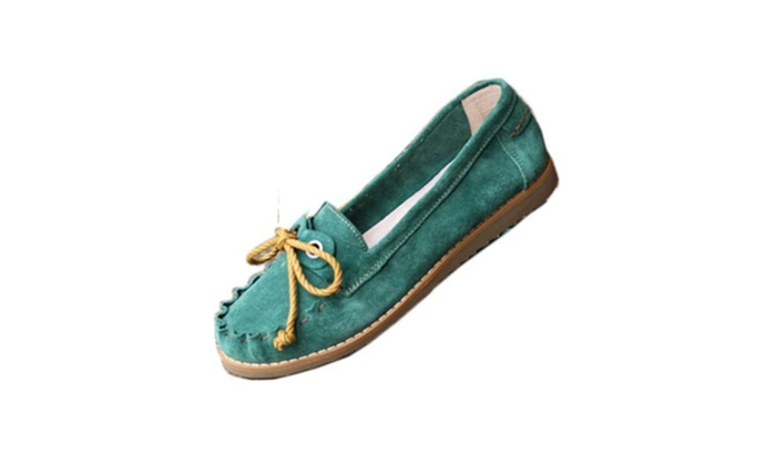 Women's Simple Slip on Casual Loafers Shoes