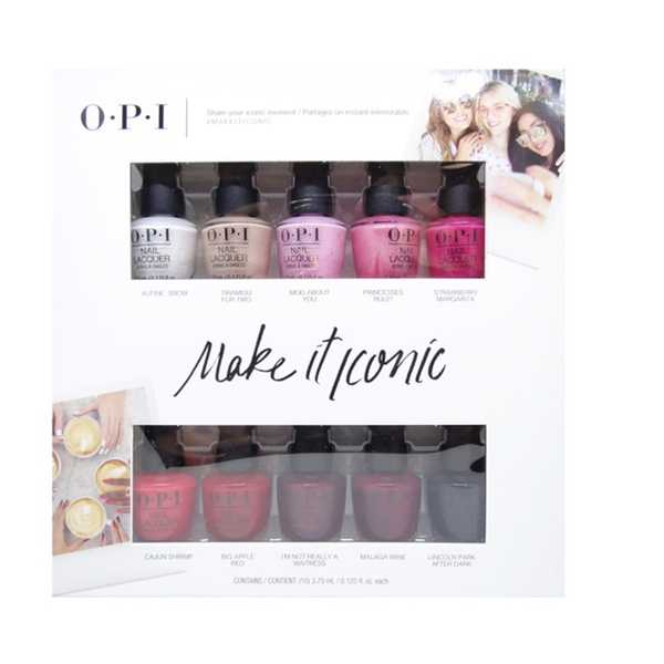 OPI Mini Make It Iconic Collection Summer 2018 Nail Lacquer Set of ...