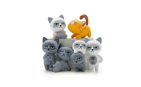 Lovely Cats Action Figure Toy Children Baby Room Decoration Kids Gift 32dc9ed6-2b04-497f-be3f-f9342a1e4bab