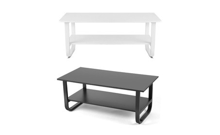 2Layer Computer Desk Study Table Stand Home Office Furniture 39inch photo