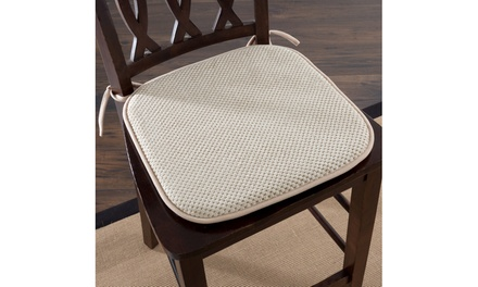 Memory Foam Chair Cushion for Dining Room, Kitchen, Outdoor Patio & Desk Chairs