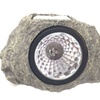 New Solar Powered LED Grey Rock Stone Landscaping Light For Garden