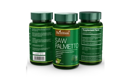 3 Bottles of Saw Palmetto Extract Capsules for Man d88b972c-2a59-4832-a862-d75ef8f521ad