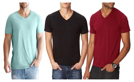 ZAK V-Neck Men's T-Shirts Available In Assorted Colors