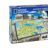 4D Cityscape Time Puzzle - National Geographic - Ancient Greece: 600 Pcs