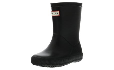 Kids Hunter First Classic Rain Boots 6a1b3da3-e447-4d9f-b2d8-2cd4423343e5