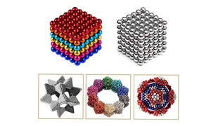 216pcs 3mm 5mm Buckyballs Magnetic DIY Balls Neocube Puzzle Toy