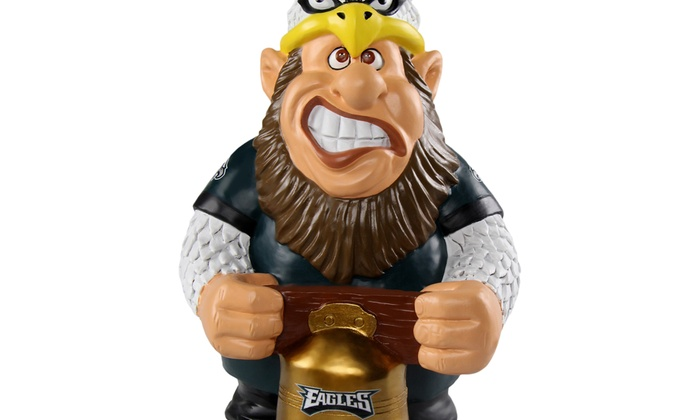 cheap for discount f0f79 96b2f Forever Collectibles - NFL Caricature Garden Gnome, Philadelphia Eagles