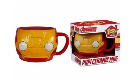 Funko Travel and Go Drinkware Iron Man Pop Home 12 Oz Mug cca65254-1924-4e17-8829-0140c7aefb51