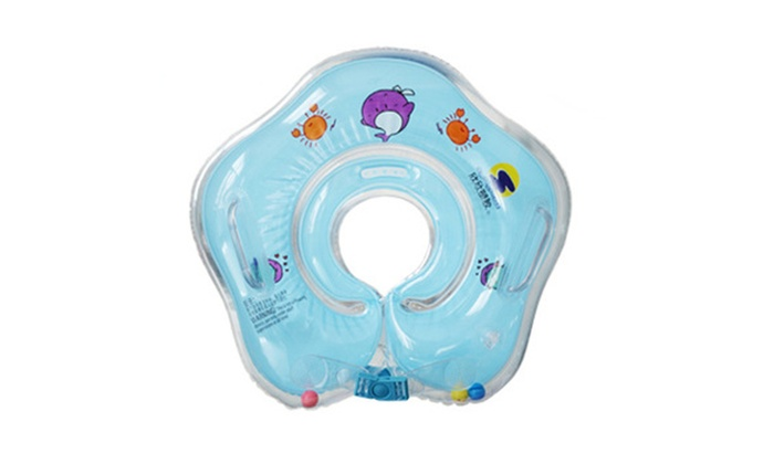 Infant Inflatable Swimming Pool Bath Neck Ring