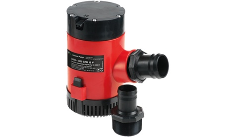 JOHNSON PUMPS 40084 HD Bilge Pump, 4000GPH, 24V, No Switch photo
