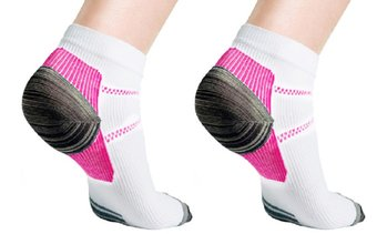 Unisex Compression Socks for Plantar Fascilitis (3 or 6-Pairs)