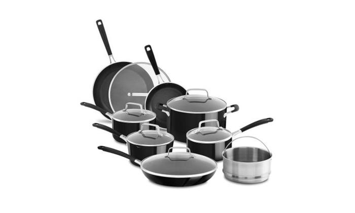 Kitchenaid Nonstick 14 Piece Cookware