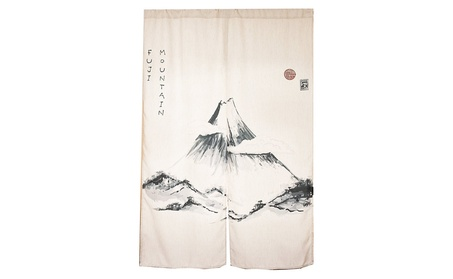 Japanese Noren Doorway Curtain / Tapestry (Fuji Mountain) f2d9a437-a9b5-4f81-aa2d-407999bcfd0a