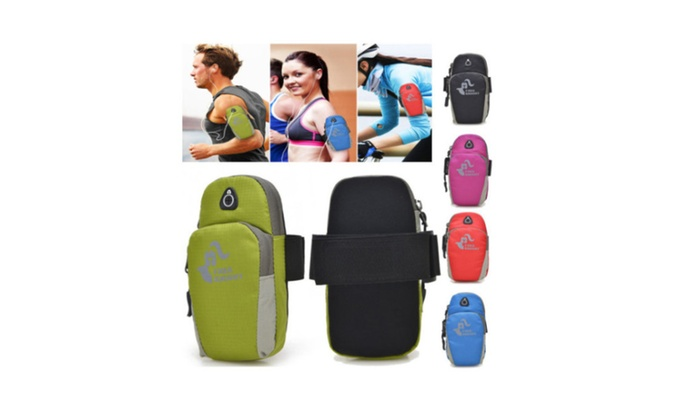 Perfect Universal Arm Bag Nylon Armband Running Pouch Sport Phone Bo