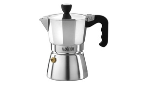 La Cafetiere Classic 3-, 6-, or 9-Cup Polished Espresso Coffee Maker
