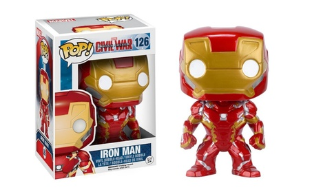 Funko POP Marvel: Captain America 3: Civil War Action Figure - Iron Ma - Red 68e1707c-4d88-48ab-8f78-9f7f00cd9138