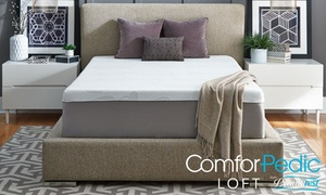 ComforPedic Loft from Beautyrest 14'' Gel Memory Foam Mattress Custom Comfort