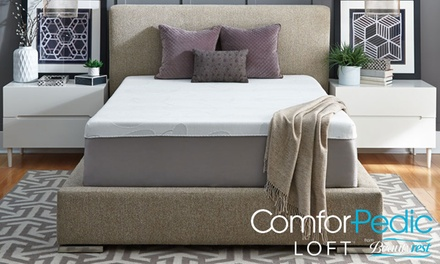 ComforPedic Loft from Beautyrest 14'' Gel Memory Foam Mattress Custom Comfort