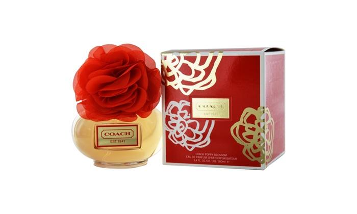 Coach poppy blossom eau de parfum spray 34 oz groupon coach poppy blossom eau de parfum spray 34 oz mightylinksfo
