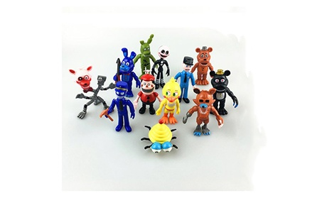 "Fnaf Five Nights at Freddy's Action Figures Toys Dolls (12 Piece), 4"" 0da8f547-41b7-4284-84d1-8eb46445f1da"