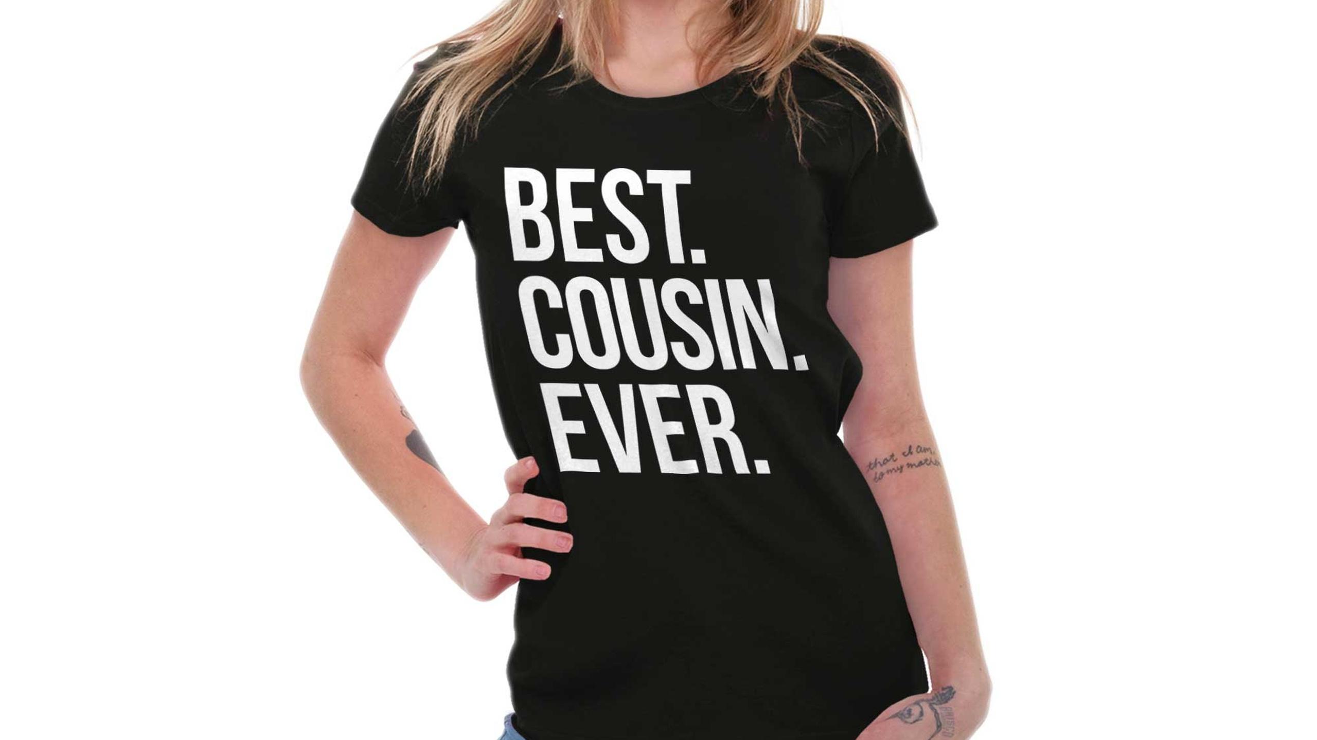 1e10644875ac Best Cousin T Shirt   Azərbaycan Dillər Universiteti