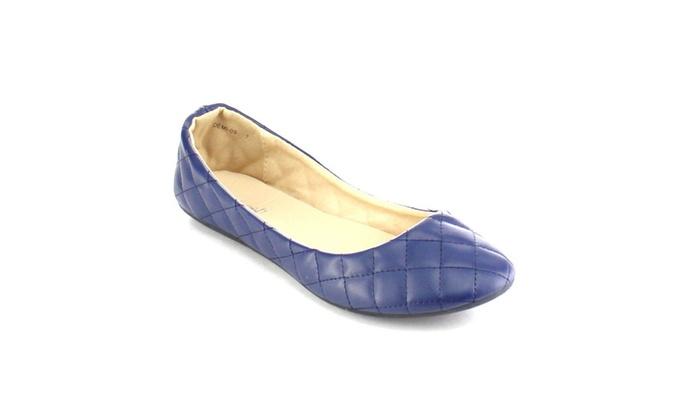 Beston AB18 Women's Comfort Easy Slip On Ballet Flats