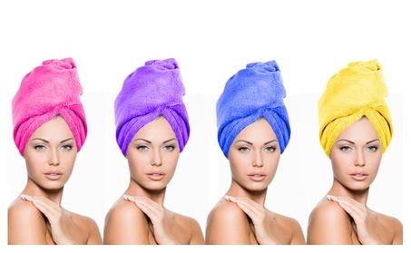 4 Small Turbie Twist Dryer Hair Towel