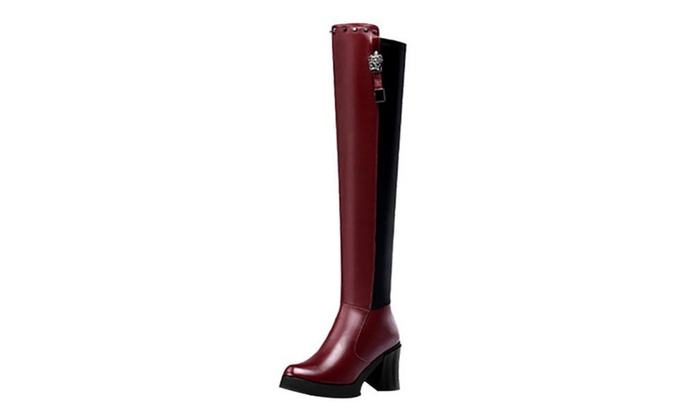 Women's Ladies Leather Zip Round Toe Fashion Boots Shoes